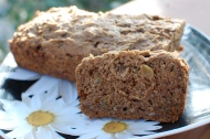 Leslie's Zucchini Bread (Sugar & Glutenfree)