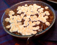 Sweet Potato Casserole: SugarFree