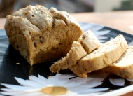 Mom's Banana Bread: Gluten-free,Sugar-free
