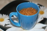 Banana Bread: in a mug (gluten and processed sugar free)